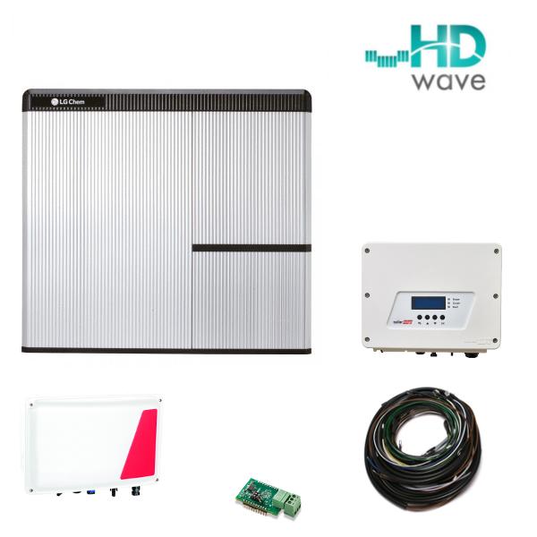 LG Chem RESU 7H & SE StorEdge & SE3680H AC Paket - für SE WR