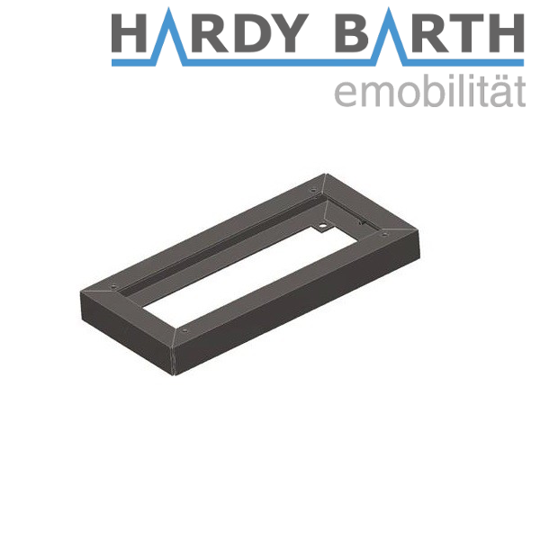 Hardy Barth stainless steel base 40mm for cPP1