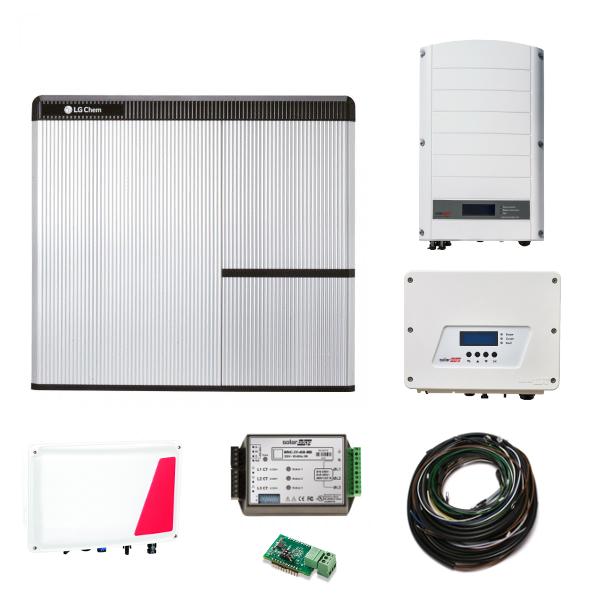 LG Chem RESU 7H & SE StorEdge & SE3680H AC + SE5K Paket