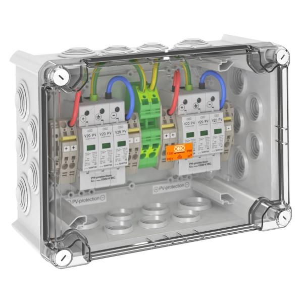OBO Überspannungsbox DC Typ II, 2 MPP, Klemmen