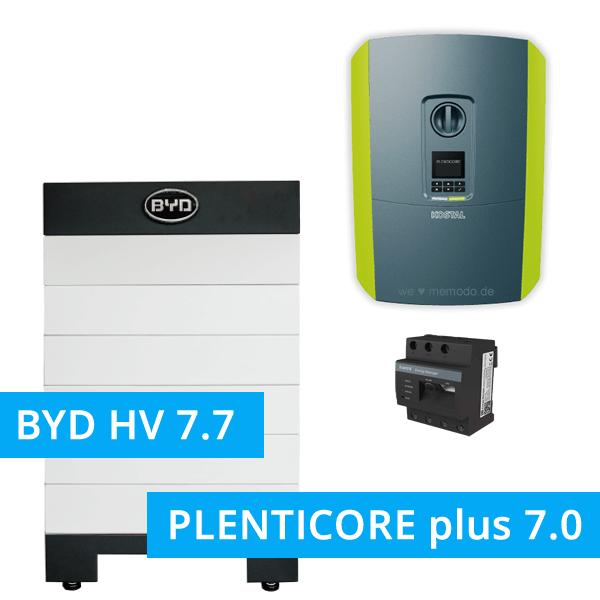 BYD Battery-Box H 7.7 Hochvolt mit KOSTAL Plenticore plus 7.0