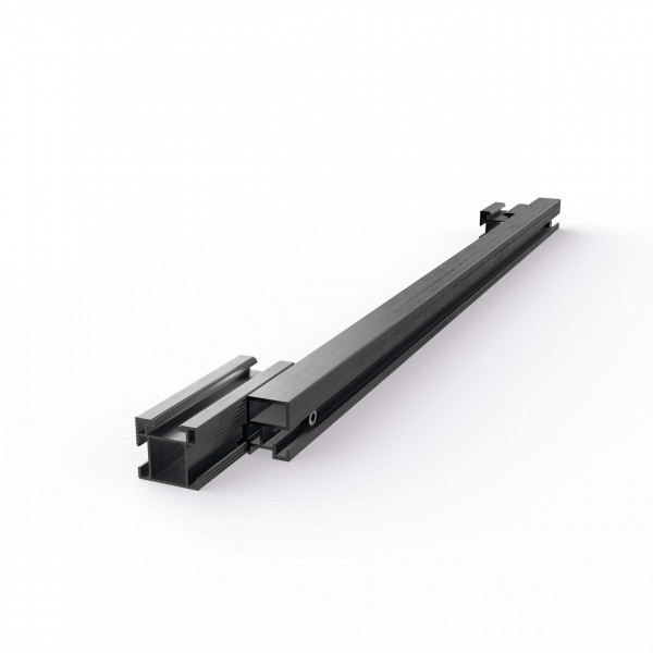 Mounting Systems telescopic rail end piece 4/35 CS sw, 720-0063