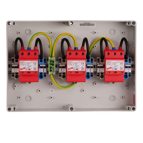 enwitec overvoltage protection DC type II, 3 MPPT, terminals