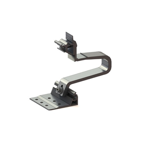 Alumero roof hook AL 13, 3-way adjustable