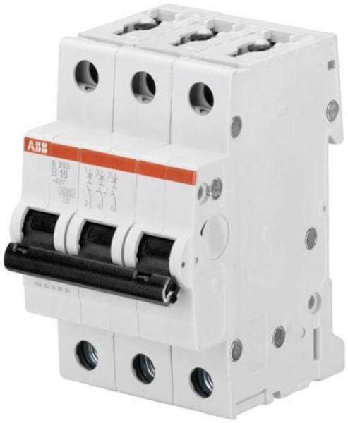 ABB LS-Schalter B16A, 3-pol., 6kA