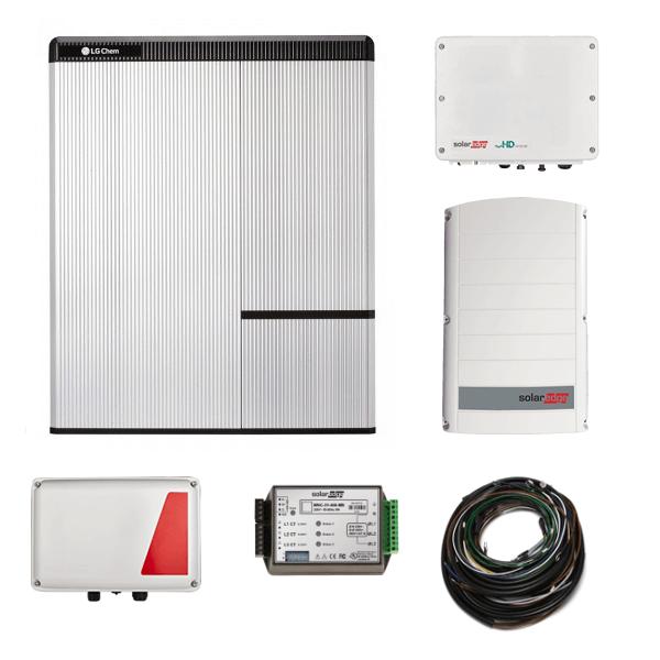 LG Chem RESU 10H & SE StorEdge & SE5000H AC N4 + SE7K-N4