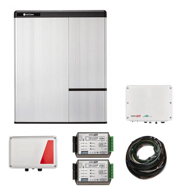 Kit LG Chem RESU 10H & SE StorEdge HD & SE5000H AC N4 - per inverter di terze parti