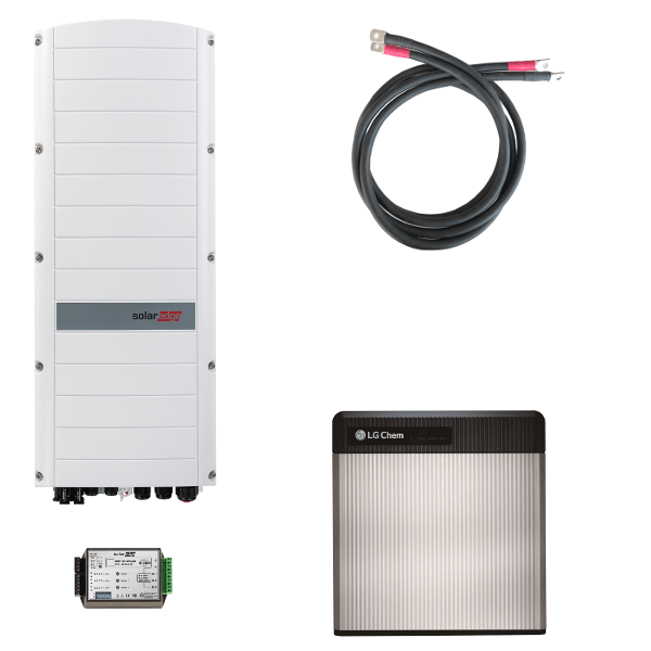 LG Chem RESU 10 s třífázovým střídačem SolarEdge StorEdge SE5K