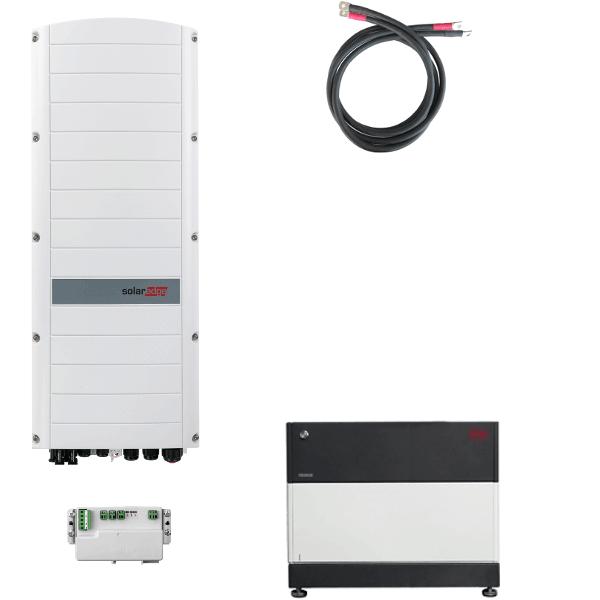 BYD Battery-Box Premium LVS 4.0 mit SolarEdge StorEdge Dreiphasen-Wechselrichter SE5K