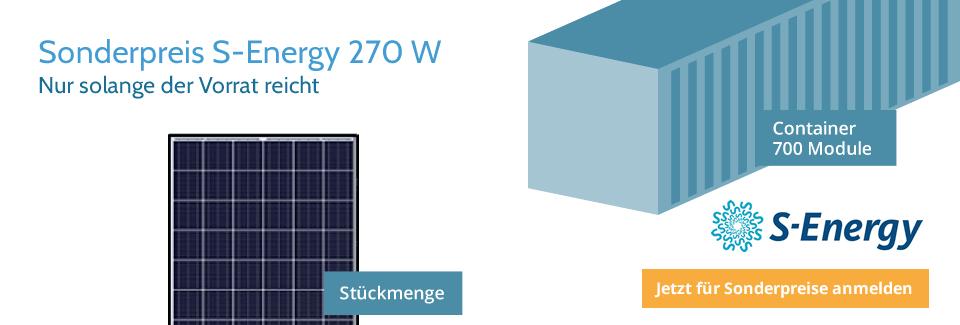 Memodo S-Energy Banner