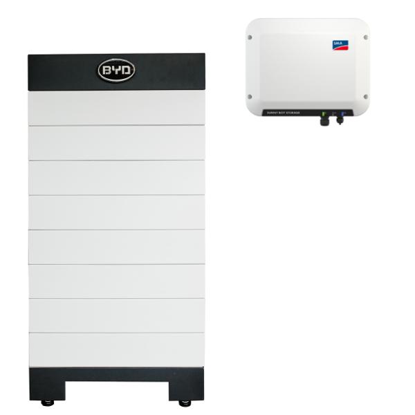 BYD Battery-Box H 10.2 Hochvolt mit SMA SBS 2.5