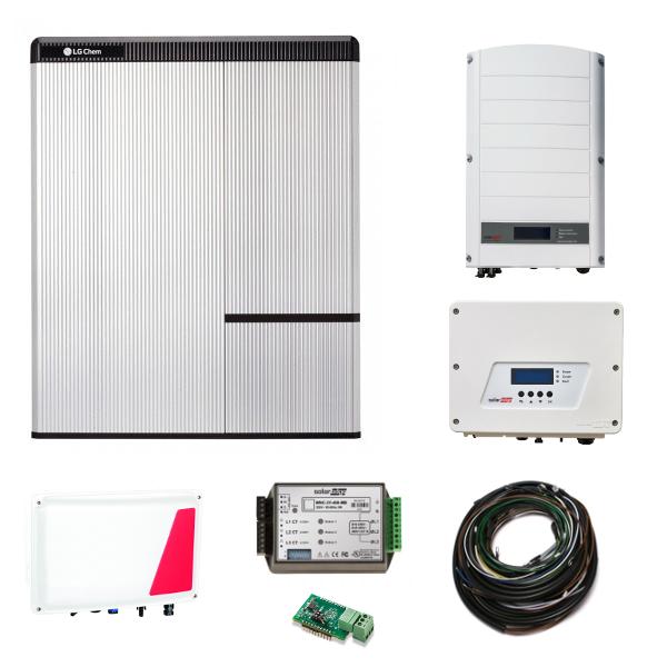 LG Chem RESU 10H & SE StorEdge & SE5000H AC + SE12.5K