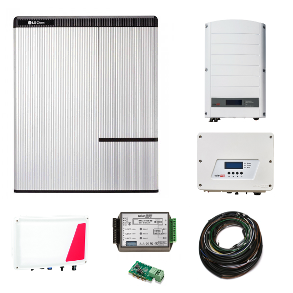 LG Chem RESU 10H & SE StorEdge & SE5000H AC + SE12.5K N4