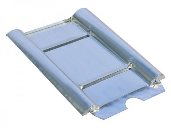 Marzari Metalldachplatte Typ Beton Big, schwarz-grau