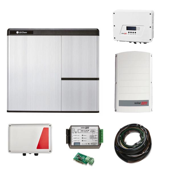 LG Chem RESU 7H & SE StorEdge & SE3680H AC + SE5K-N4 Paket