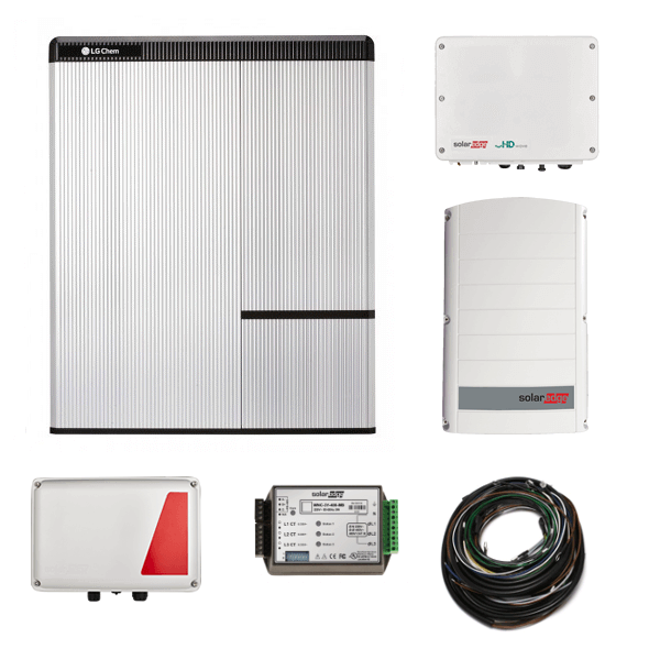 LG Chem RESU 10H & SE StorEdge & SE5000H AC N4 + SE17K-N4