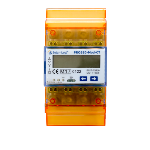 Solar-Log Pro 380 CT for transducer measurement