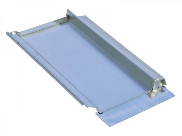 Marzari metal roof plate type Clay 265, black grey