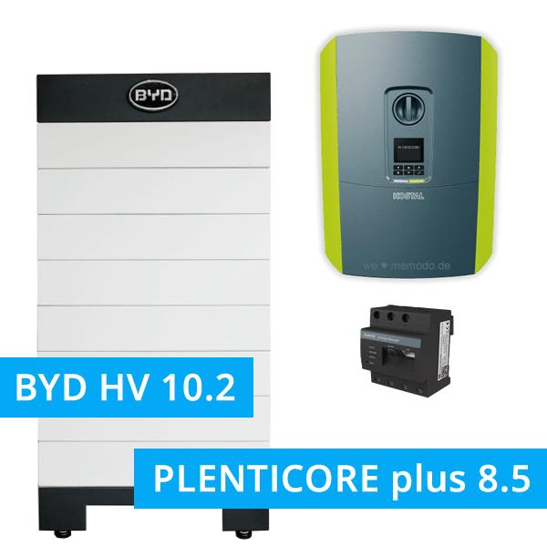 BYD Battery-Box H 10.2 Hochvolt mit KOSTAL Plenticore plus 8.5