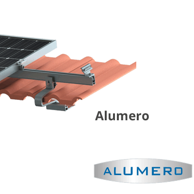 Mounting system from pmt and alumero