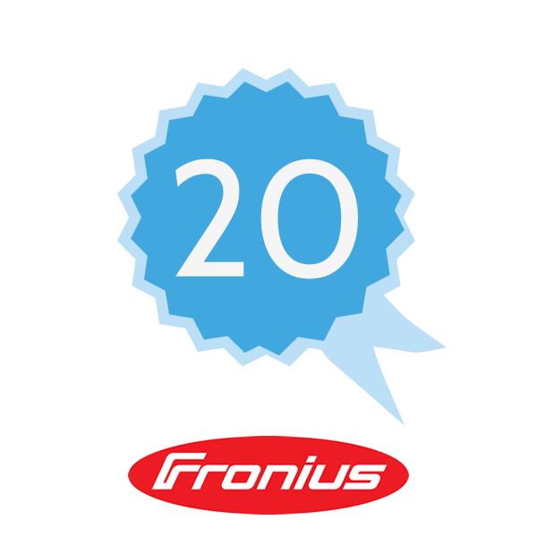 Fronius Garantieverlängerung 20 J K6