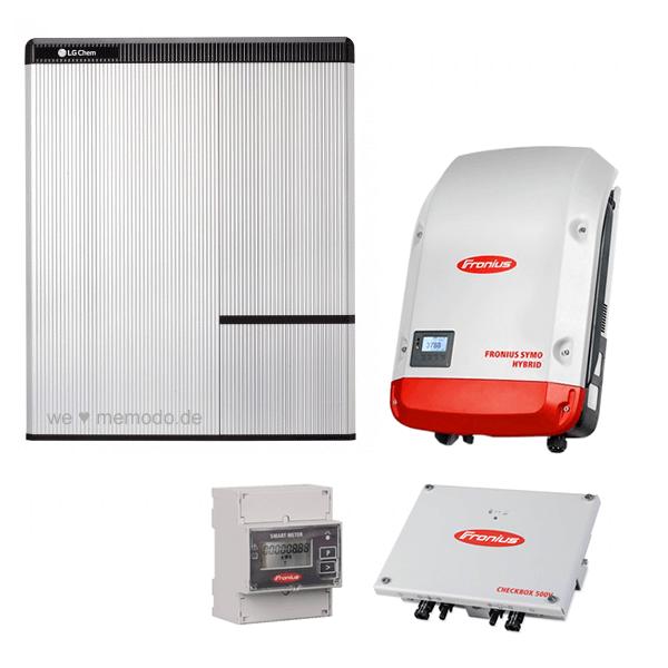 LG Chem RESU 10H & Fronius Symo Hybrid 5.0-3-S & Fronius Checkbox