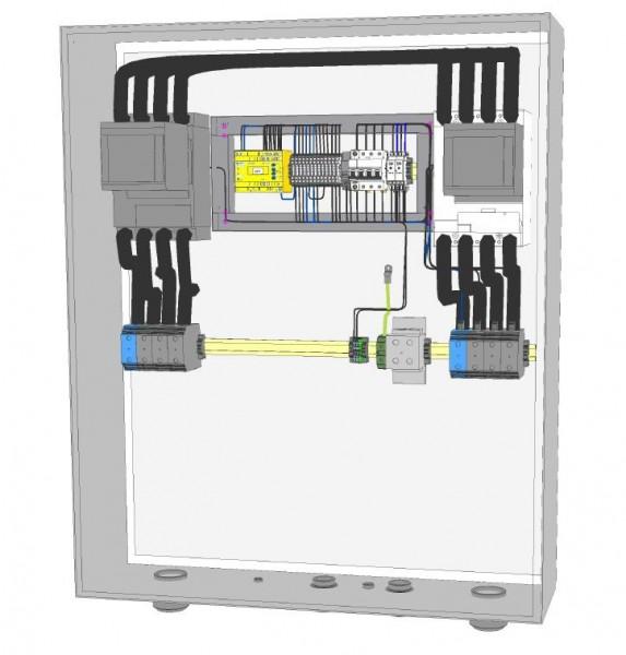NA-Schutz HNA-0220-0-A001 / 220 kVA 315A