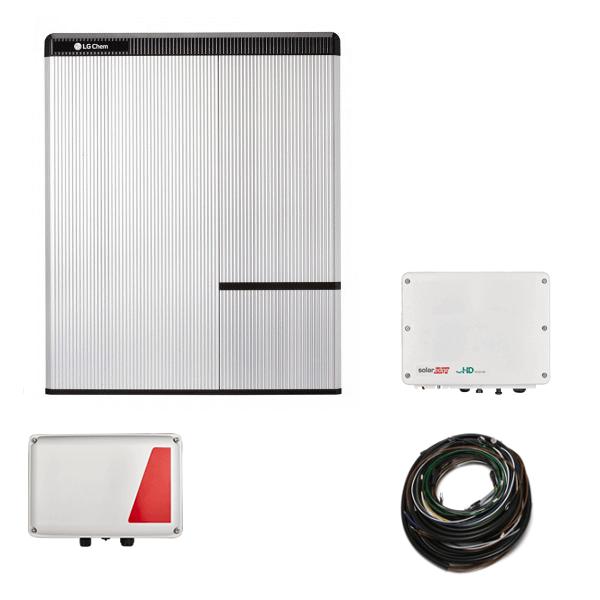 Set LG Chem RESU 10H & SE StorEdge HD & SE5000H AC N4 – pro střídač SE