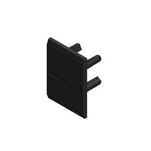 Alumero koncové víčko 45 černé