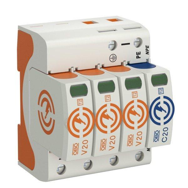 OBO přepěťová ochrana AC typ II, V20
