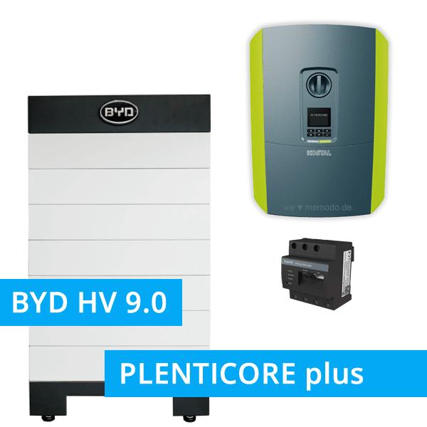 BYD Battery-Box H 9.0 Hochvolt mit KOSTAL Plenticore plus 5.5