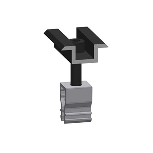 Alumero Mittelklemme 2.1 Click schwarz