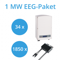 SolarEdge 1MW Commercial Paket