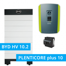 BYD Battery-Box H 10.2 Hochvolt mit KOSTAL Plenticore plus 10