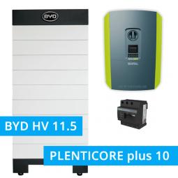 BYD Battery-Box H 11.5 Hochvolt mit KOSTAL Plenticore plus 10