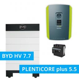 BYD Battery-Box H 7.7 Hochvolt mit KOSTAL Plenticore plus 5.5