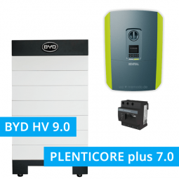 BYD Battery-Box H 9.0 Hochvolt mit KOSTAL Plenticore plus 7.0