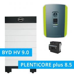 BYD Battery-Box H 9.0 Hochvolt mit KOSTAL Plenticore plus 8.5
