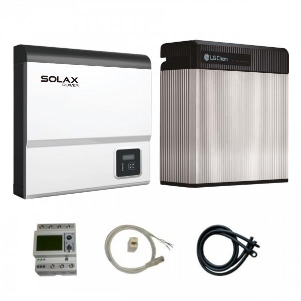 LG Resu 10 & Solax SK-SU5000E X-Hybrid G2 Paket
