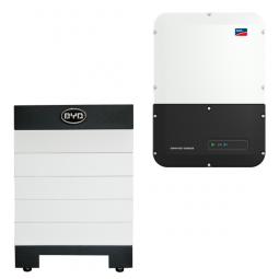 BYD Battery-Box H 6.4 Hochvolt mit SMA SBS 3.7