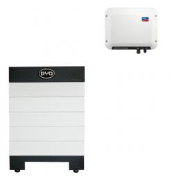 BYD Hochvolt B-BOX-H6.4 mit SMA SBS 2.5
