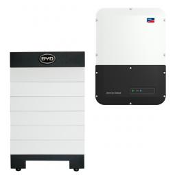 BYD Battery-Box H 7.7 Hochvolt mit SMA SBS 3.7