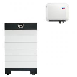 BYD Battery-Box H 7.7 Hochvolt mit SMA SBS 2.5