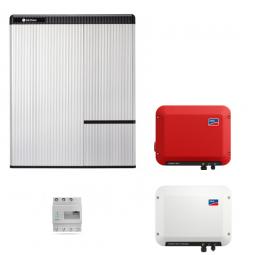 LG Chem RESU 10H & SMA SB Storage 2.5 & SB 1.5