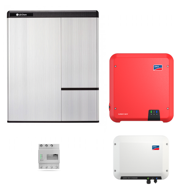 LG Resu 10H & SMA SB Storage 2.5 & SB 4.0
