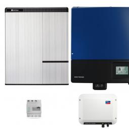 LG Resu 10H & SMA SB Storage 2.5 & STP 15000