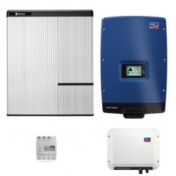 LG Resu 10H & SMA SB Storage 2.5 & STP 8000