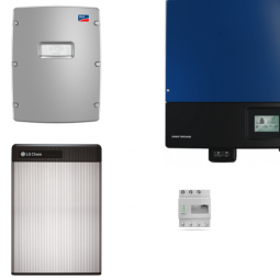 LG Resu 6.5 mit SMA SI 4.4M-12 und STP 25000