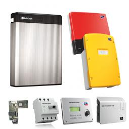 LG Resu 6.5 mit SMA SI 6.0H und SB 3000