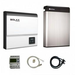LG Chem RESU 6.5 & Solax SK-SU3700E X-Hybrid G2 Paket